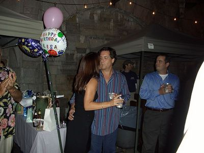 Lisa's Bday party- August 5, 2004