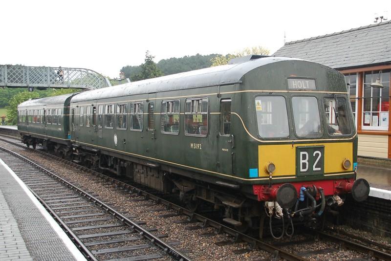 Dmu M51192 & M56352 - Weybourne, North Norfolk Railway - 10 May 2016