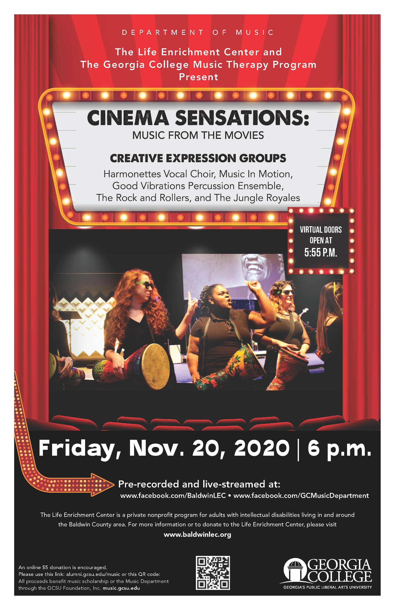 Please join us at 6 pm on Friday, Nov. 20 for this event!