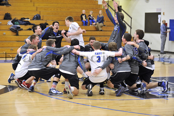 Lincoln-Way East Varsity Boys Volleyball (2014)
