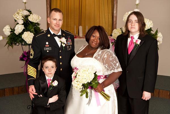 Post-Wedding Group Shots