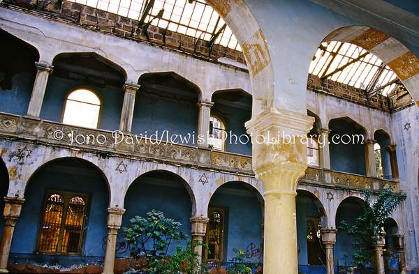 LEBANON, Beirut. Magen Avraham Synagogue (2.2004)