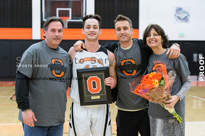 2016 Men vs Claremont-Mudd-Scripps (02-20-2017) - Senior Night