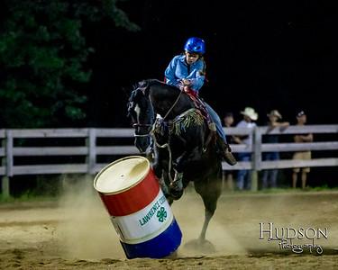 16. Clover Leaf Barrels Horse  Jr. Rider