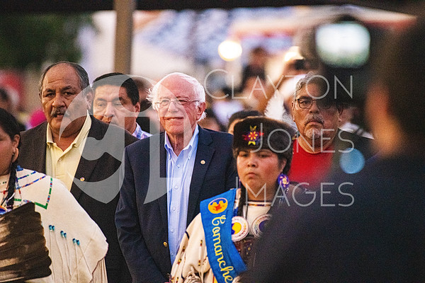 Bernie Sanders Powwow with Comanche Nation, 9/22/2019