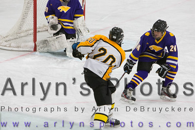 Hutch Boys Hockey vs Waconia
