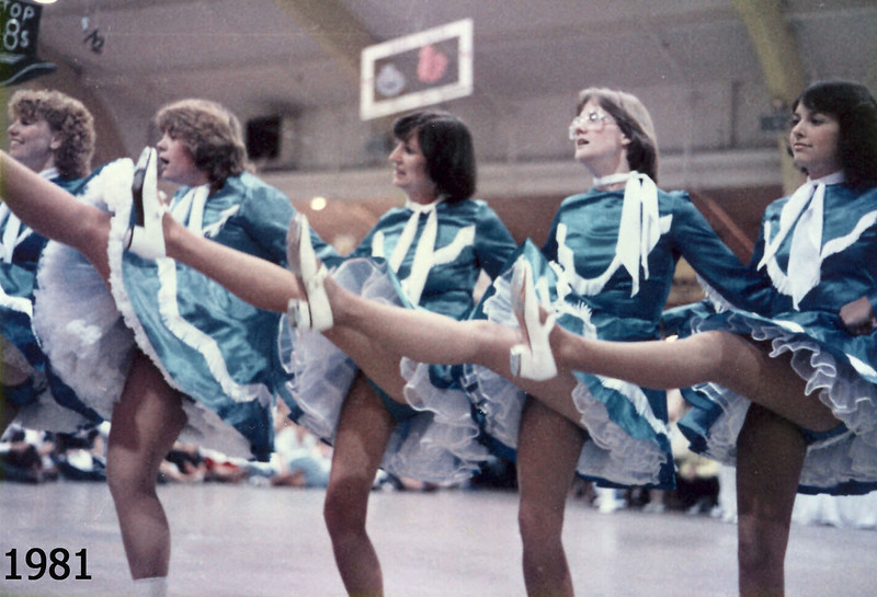 Great kick style! BHC at Jubilee 1981