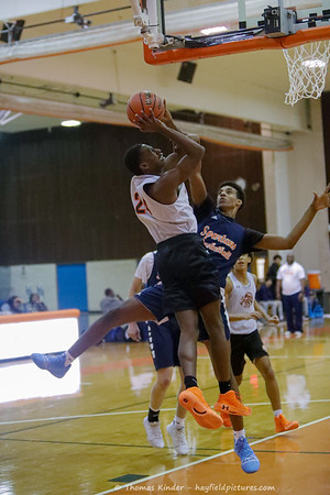 Boys Varsity Basketball v West Springfield 11/18/19