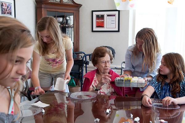 Service Learning Club Tea 2012