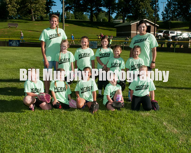 2016 5-7 Softball Lime Green Team, June 9, 2016