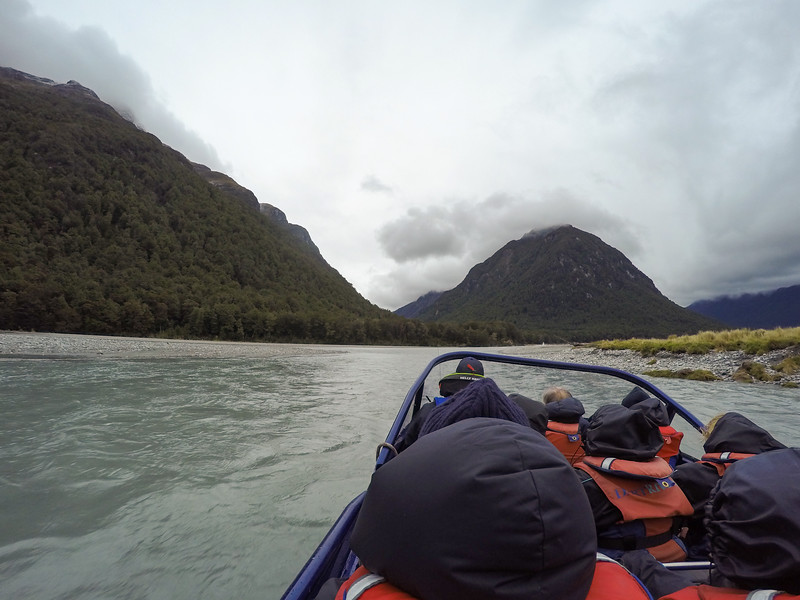 Dart River Wilderness Jet in Mount Aspiring National Park