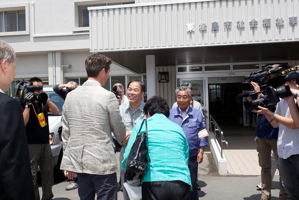 Event 2011 HRH Crown Prince Frederik Higashi-Matsushima Donations