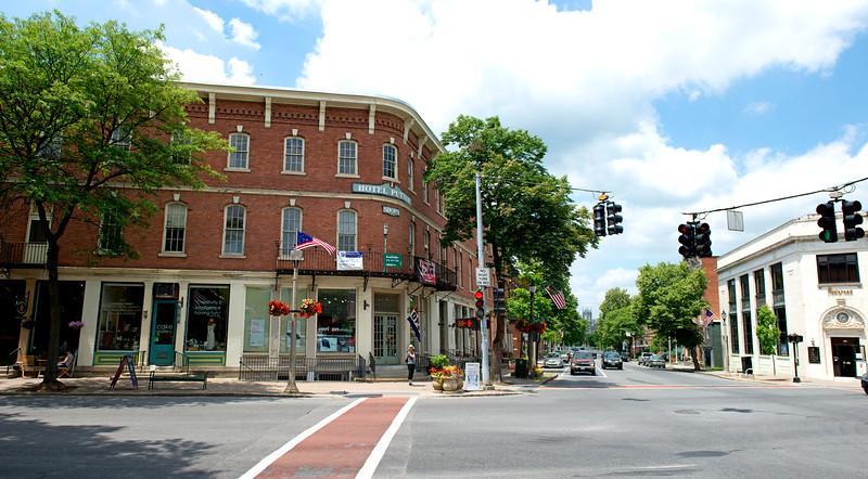 Main St., Downtown Bennington, VT  #892
