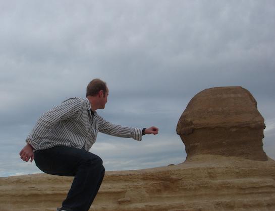 career break travel adventures in Egypt