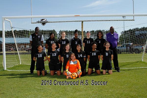 2018 Girls Soccer Varsity