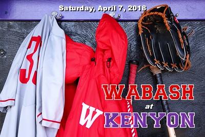 2018 Wabash at Kenyon (04-07-18)
