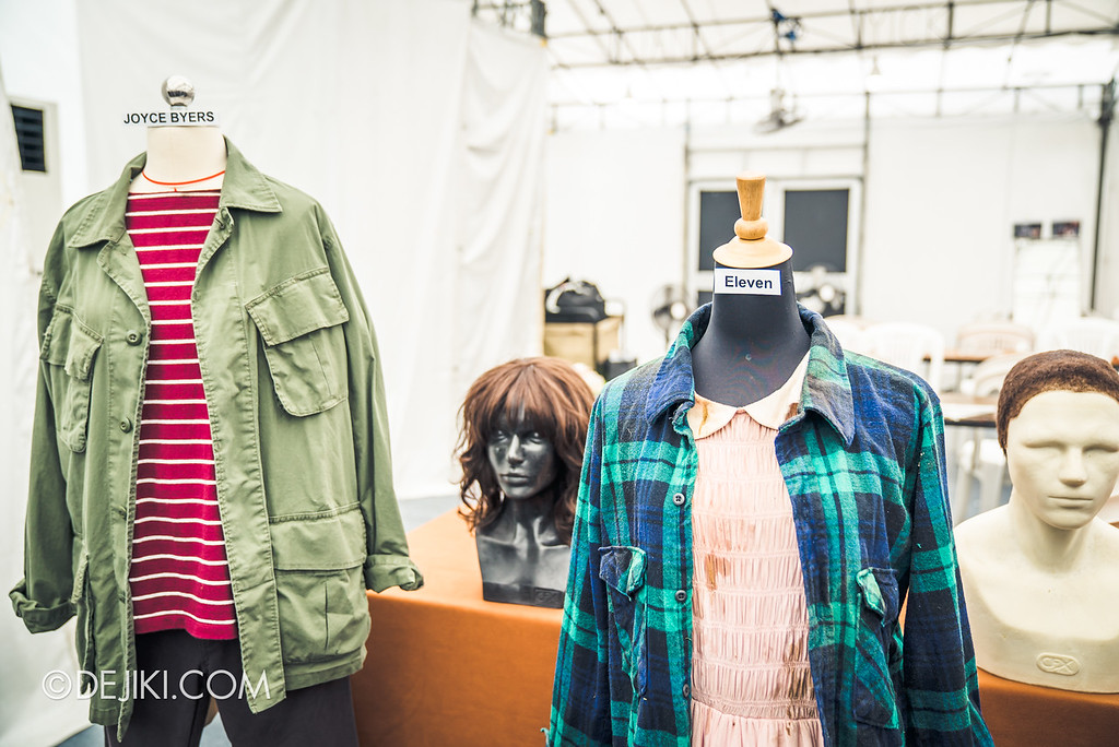 USS Halloween Horror Nights 8 Stranger Things haunted house maze PREVIEW Behind the scenes costumes Joyce and Eleven