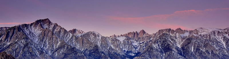 Lone Pine Peak & Mt. Whitney