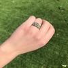 2.10ct Art Deco Peruzzi Cut Diamond Ring, GIA W-X SI2 9