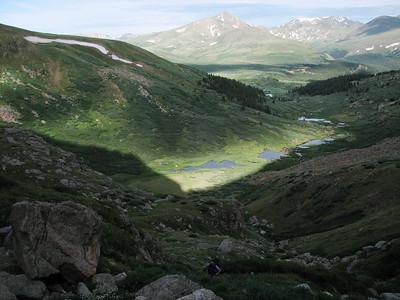 Mt. Bierstadt Trough August 2008