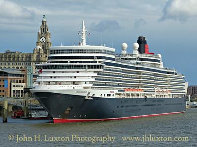 Queen Elizabeth - Liverpool - July 02, 2016