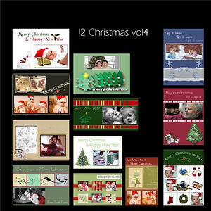Custom Christmas Card Templates