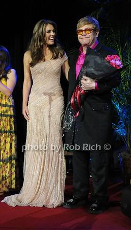 Elizabeth Hurley, Sir Elton John photo by Rob Rich/SocietyAllure.com © 2012 robwayne1@aol.com 516-676-3939