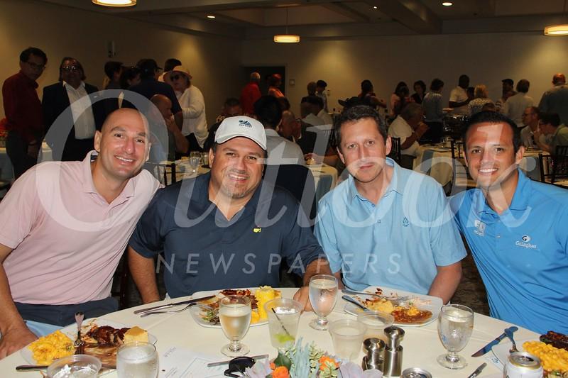 Tanner Ragland, Nick Hernandez, Chris Conway and Brendon Pollis