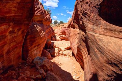 Buckskin gulch slot canyon