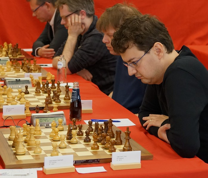GM Erwin l' Ami, winner of 'A' Group