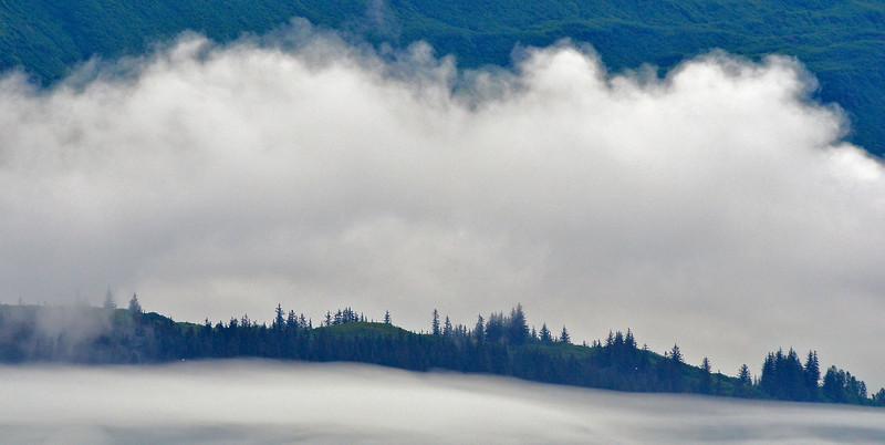 The perpetual mists of Valdez, Alaska.