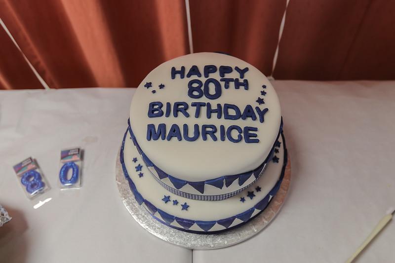 Maurice 80th Birthday 2021