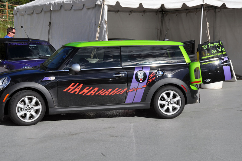 MITM Day 1. Mike's company vehicle for Aesthetic Creations, which designed and applied the vinyl graphics.