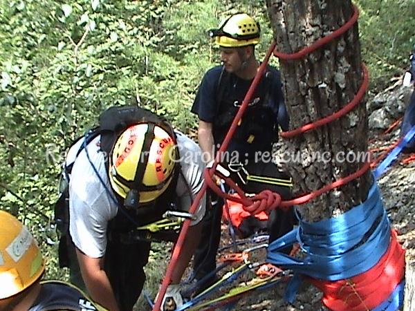 Cherokee Fire Department; Rescue Technician Rope Rescue;