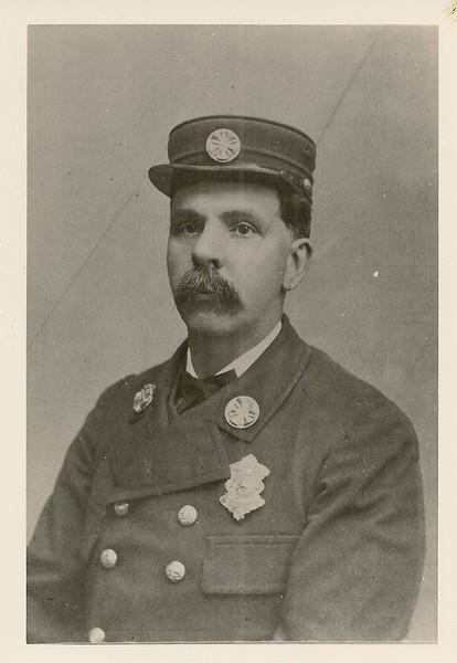 John B Gordon, Chief Engineer, President of the Firemen's Relief Association.