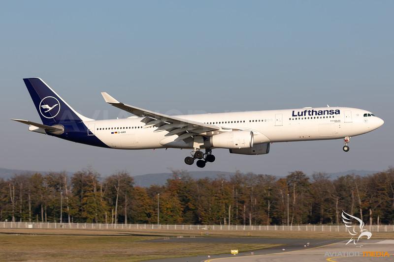 Lufthansa   Airbus A330-343   D-AIKR