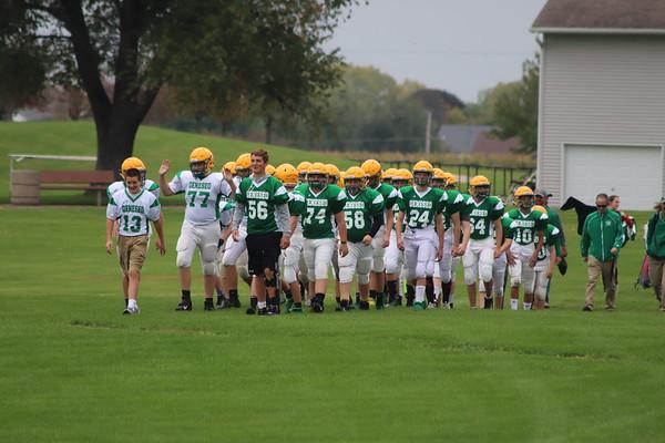 8th Grade Grn-Wht game 10-10-19