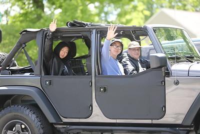 20200531 Twinsburg Graduation Parade Photos