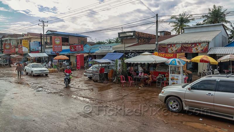 On Highway near Sihanoukville