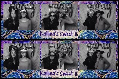 Kailina's Sweet 16