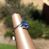 Vintage-Inspired and Contemporary 3.03ct Blue Sapphire Ring (GIA, No-Heat)) 24