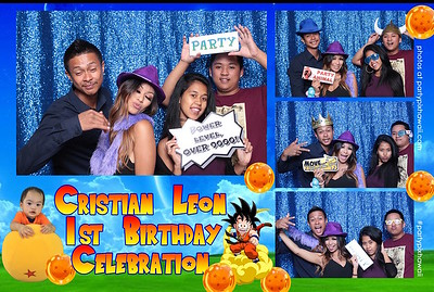 Cristian's 1st Birthday (Open Air Photo Booth)