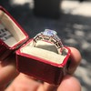 3.43ctw Emerald Cut Diamond 5-Stone Ring by Leon Mege, GIA F SI1 31