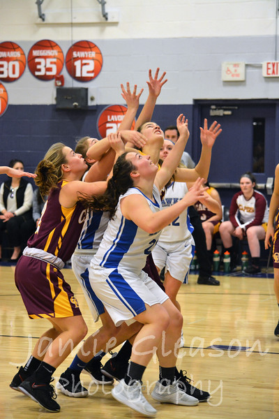 2018 Lady Hawks Basketball