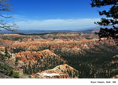 Red Canyon, Kodachrome State Park, Bryce Canyon, and Zion Canyon, Utah