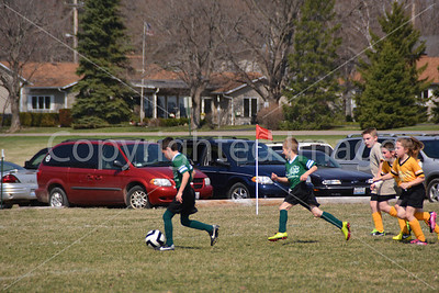 Princeton Youth Soccer Games of April 12 & 26.