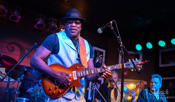 Big Bill Morganfield at Funky Biscuit 3.28.19