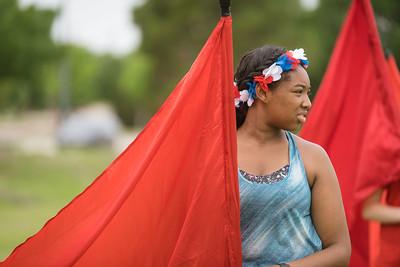 2019-06-05, Color Guard Summer Camp