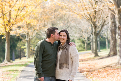 Courtney & Chad Fall Engagement