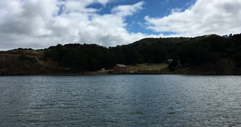 Camp Reynolds from the sea side